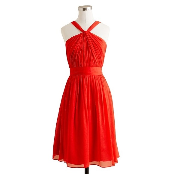 J. Crew Dresses & Skirts - J. Crew Petite Sinclair Dress in Silk Chiffon